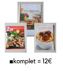 KULINARIKA ■celoten komplet = 12€