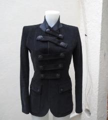 Crni suknjic/jakna Balmain,original