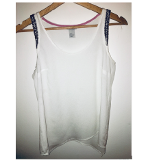 Bela srajčka/majica - H&M