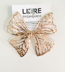 Uhani v obliki metuljevih kril