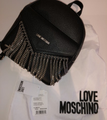 Love Moschino črn nahrbtnik MPC 250E