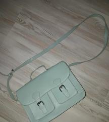 Manjša torbica v mentol barvi/ SIX