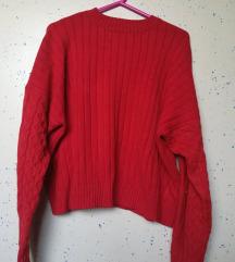 Bershka krajši pulover S