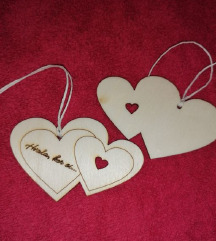 Obesek lesen srce