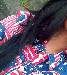 H&M JAKNA AMERICAN FLAG