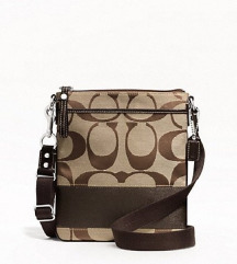 NEW! Coach Crossbody Messenger Bag