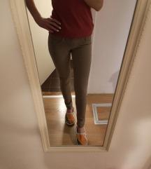 Olivne jeans