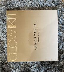 Anastasia glow kit, NOVO