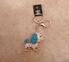 KUŽEK Obesek za ključe ali torbico