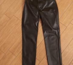 Usnjene hlače Calzedonia vel.M