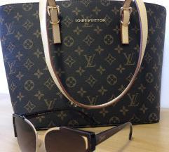 Louis Vuitton torbica + Dior sončna očala