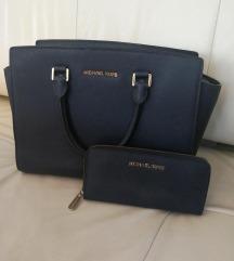 Michael Kors Saafiano torbica in denarnica