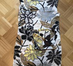 Svilena poletna obleka
