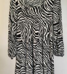 ZNIŽANA Nova zebrasta obleka