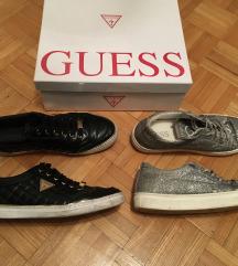 Guess črne in srebrne superge