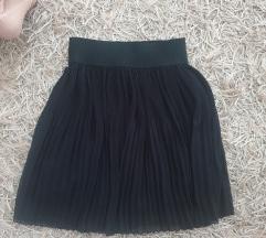 Zara črno krilo S