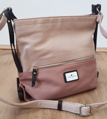 Roza-bež torbica Tom Tailor