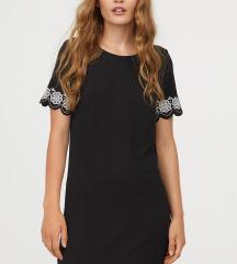 NOVA črna obleka H&M