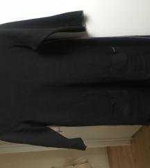 s.oliver črna pletena tunika št. 34