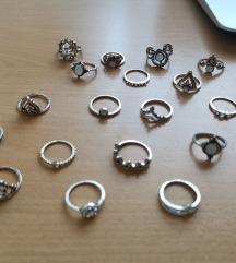 Bohemiam prstani z diamantki