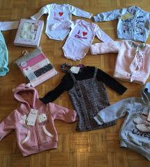 Otroška oblačila z etiketo