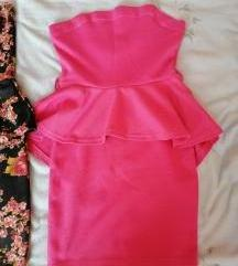 Nova peplum obleka