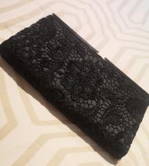 Pisemska torbica s čipko