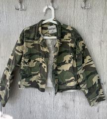 Vojaška jakna Tally Weijl nova