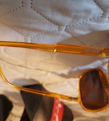 rjava sončna očala, oversized