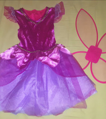 Pustni kostum vila zvončica/metuljček