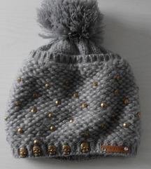 Siva kapa z neti