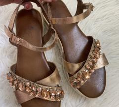 INUOVO rosegold sandali