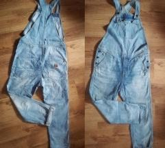 G-STAR RAW DUNGAREES BOYFRIEND OVERALL ŠT.40/L