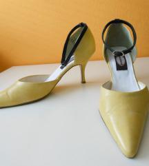 Ženski čevlji salonarji rumeni 41
