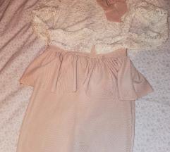 Obleka peplum