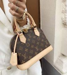 Louis Vuitton usnjena torbica Alma