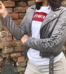 NOVA siva semiš jakna