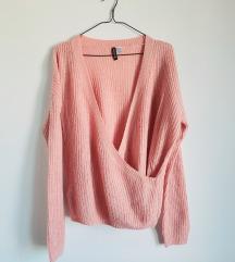pulover na preklop