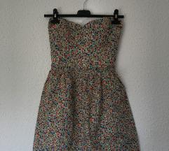 pisana obleka - floral dress