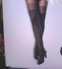 nove hlačne nogavice/žabe overknee,M velikost.
