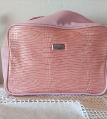Roza toaletna torbica