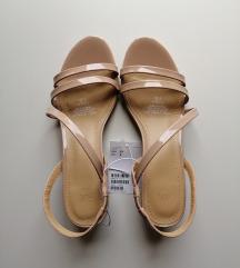 Nude sandali H&M 37