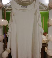 bela Mango majčka z volančki
