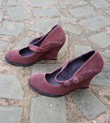 Max&Co št. 37 semiš čevlji original