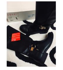 Črni škornji - ESPRIT
