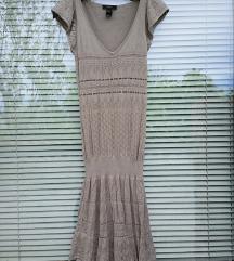 MANGO št. 40 / 42 mrežasta obleka