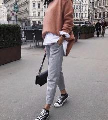 Sive tailoring hlače