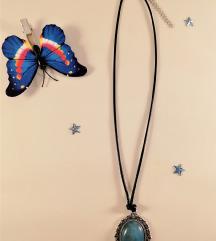 Ogrlica Modra