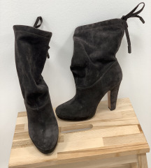 Škornji s peto PRADA original