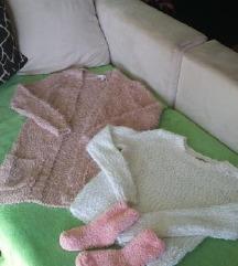 Zimska jopica in pulover